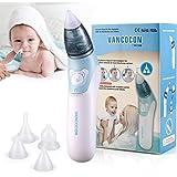 Aspirador nasal Bichiro, limpiador eléctrico para la nariz del bebé y removedor de cera para los oídos con 4 boquillas de lechón reutilizables para recién nacidos, niños pequeños y bebés: Amazon.es: Bebé