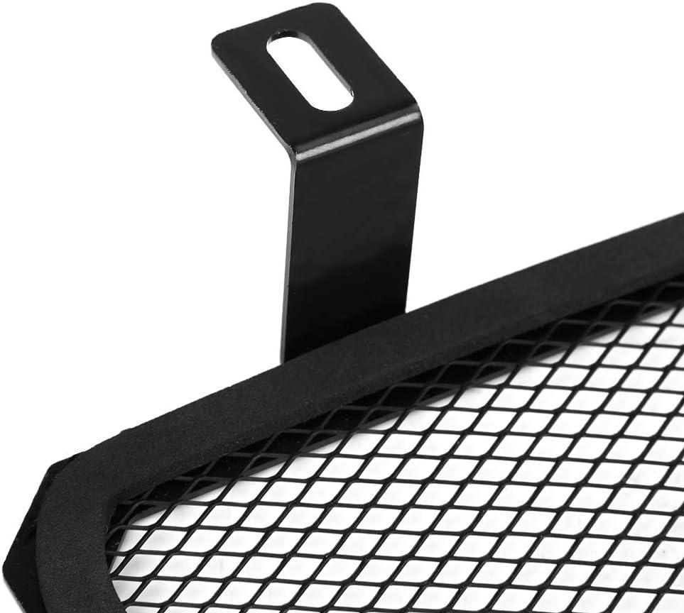EBTOOLS Copertura del radiatore del motociclo protezione della copertura della griglia della griglia della protezione laterale del radiatore del motociclo per MT-07 FZ-07 2014-2018