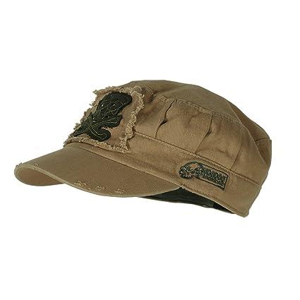94a0bf10a VooDoo Tactical 20-0017007000 Men's Ranger Roll Tactical Cap, Coyote