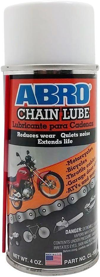 Abro seco lubricante para cadena 180 ml Alto Rendimiento Spray ...