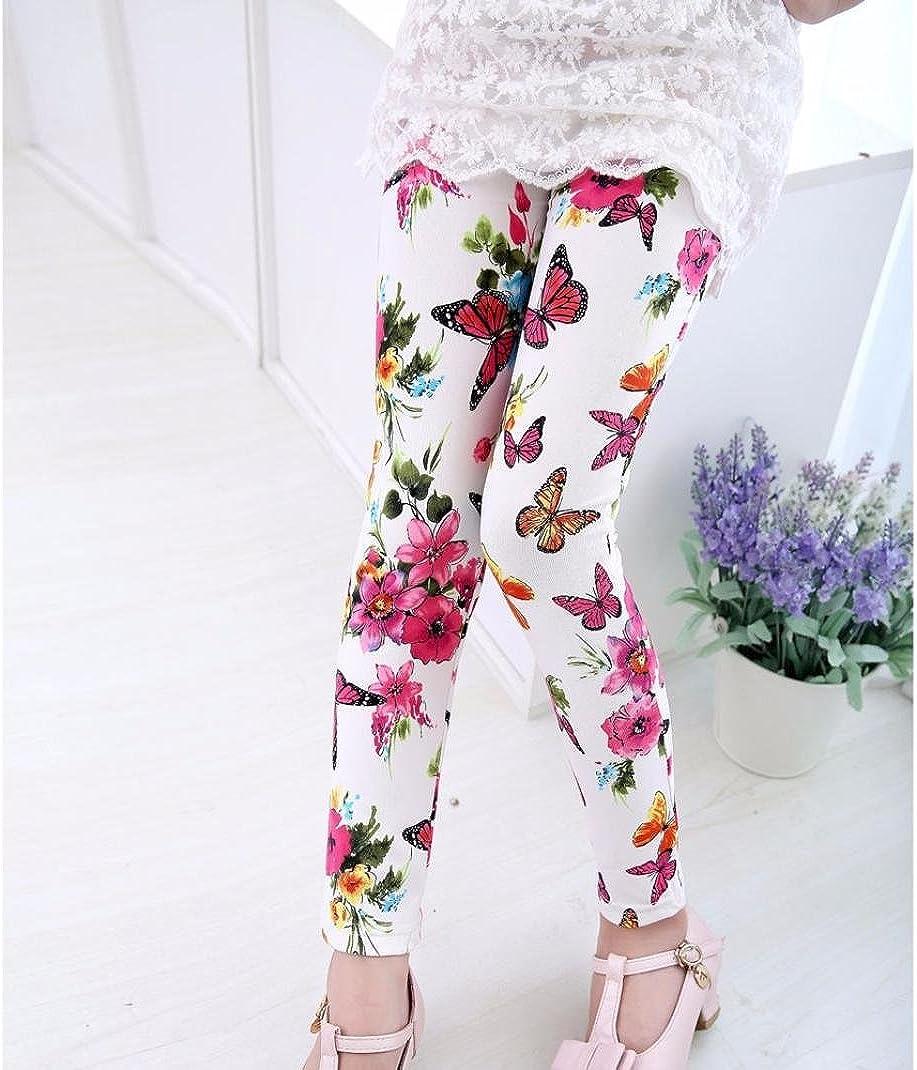 Yoyorule Baby Girls Imitation Jean Pants Elasticity Tight Toddler Leggings Yoyorule 1