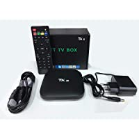 Tv box Tanix TX2 4K C/bluetooth 16GB preto com memória RAM de 2GB