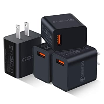 Amazon.com: Besgoods - Lote de 4 cargadores de pared USB de ...