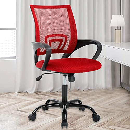 Home Office Chair Mid-Back Mesh Chair