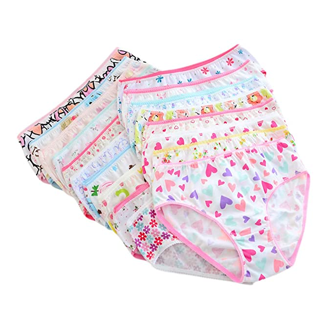 BNWT Girls BLACK 5 X Pairs  Briefs Pants Knickers Cotton Age 11-12
