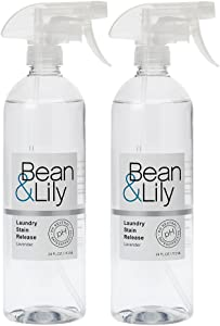 Laundry Stain Release - Plant Based, pH Neutral, Pet-Safe, Non-Toxic - Lavender - 24oz Bean & Lily Laundry Stain Release