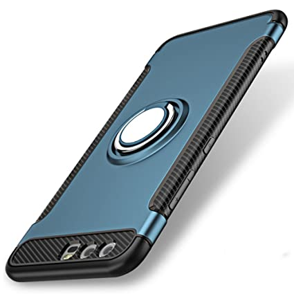 separation shoes 9f7ee 2720d Huawei Nova 2i Case, WindCase 360 Degree Rotating Ring Clip Holder Case  Compatible with Magnetic Car Mount, Dual Layer Shockproof Protection  Kickstand ...