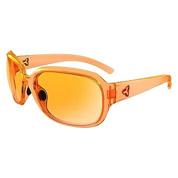 Ryders Eyewear Kira cristal naranja marco Polarizado Naranja lente gafas de sol