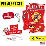 Peace of Mind While Your Pets are Home Alone In Case of an Emergency Alert firefighters and first responders of any dogs, cats, birds, rabbits or any other animals in need of rescue during an emergency or disaster when no one is present. Our big and...