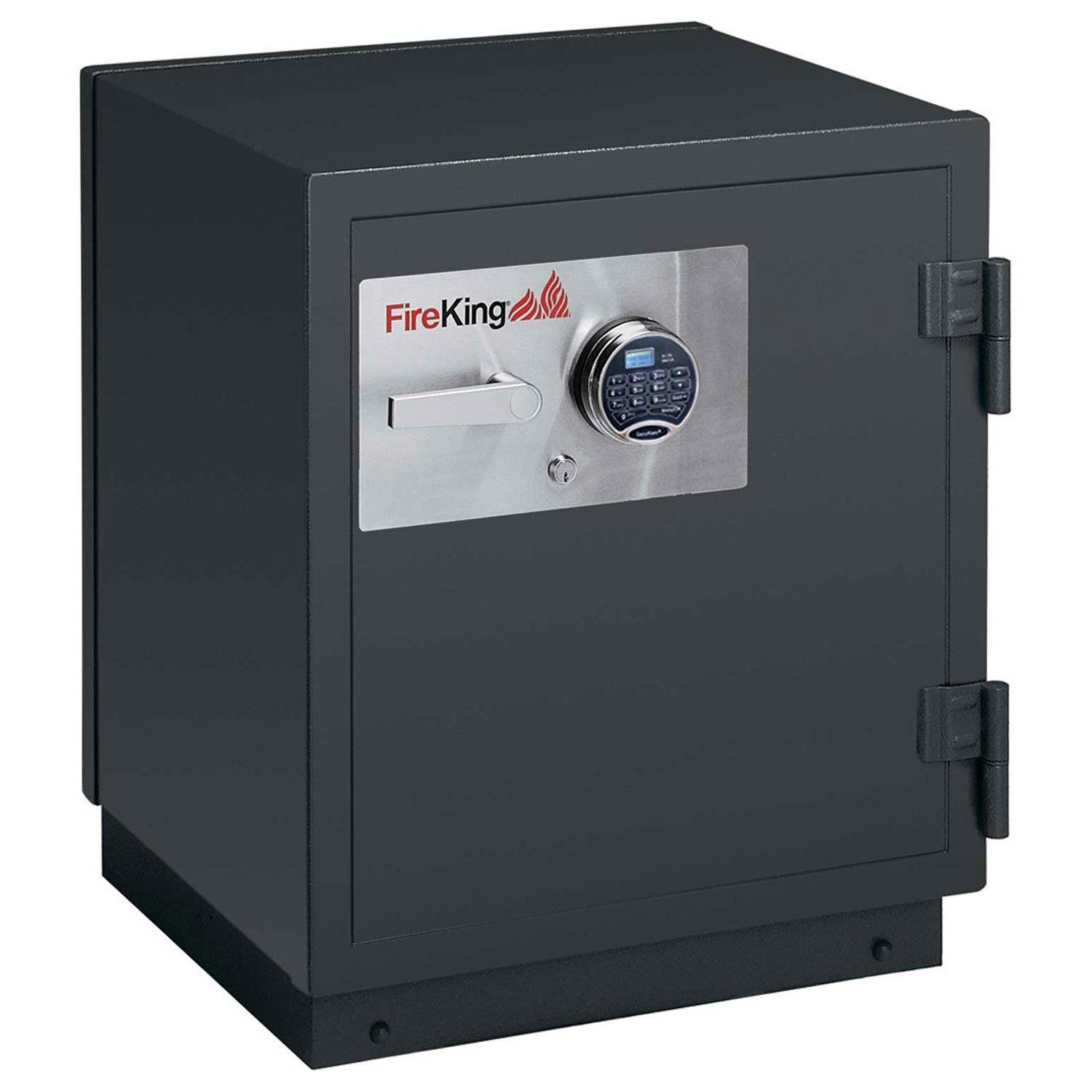 Fireking KR2115-2GR 2-Hour Fire with Impact & Burglary Rated Safe, 30.38'' H x 25.5'' W x 22.88'' D/3.2 cu. ft., Graphite