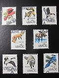 Woodland Animals Framed Postage Stamp Art - 3.5''x5'' Item#F8