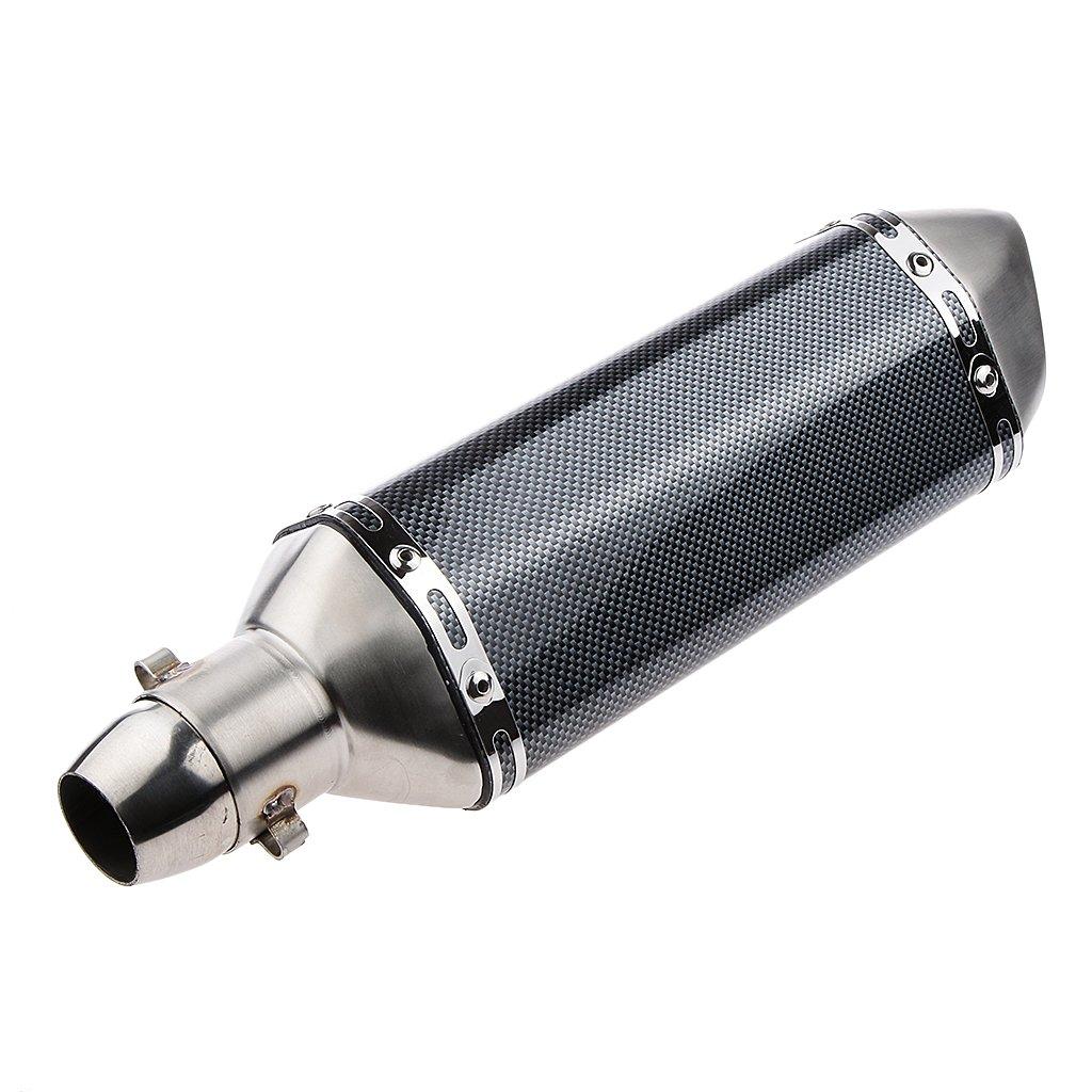Almencla Scooter Moto Silencieux dEchappement Gy6 Syst/ème Motos Accessoires