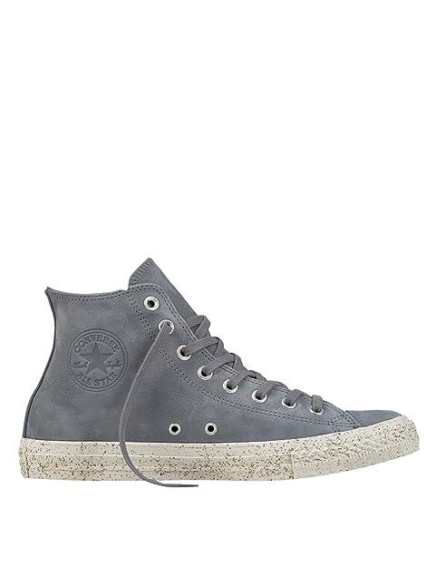 Converse Chuck Taylor All Star Hombres Raw Sugar Marrón Nubuck Hi Zapatillas: Amazon.es: Zapatos y complementos