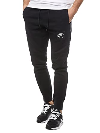 newest de2fe a8d4a NIKE HOSE HERREN JOGGINGHOSE 886048 NSW JOGGER AIR SCHWARZ BLACK MEN