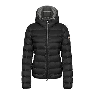 a5fa744ad Amazon.com  COLMAR Satin Effect Ladies Down Jacket With Fixed Hood ...