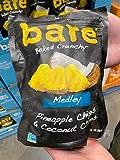 Bare Baked Crunchy Medley Pineapple Chips & Coconut Chips 7 oz, 198 g