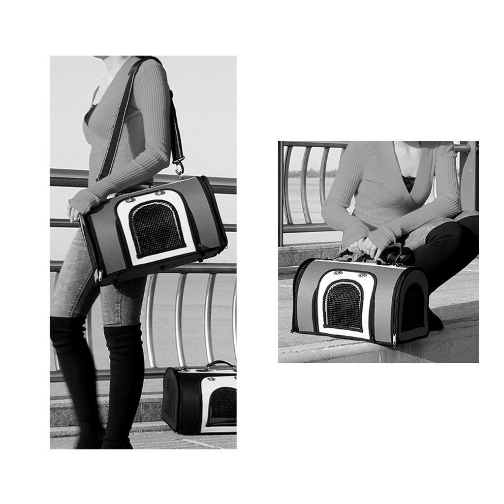 d889134dc7 ... Borsa per animali domestici Outdoor Outdoor Outdoor Travel Pet Carrier  Zaino Single Shoulder Bag Carrier Escursionismo