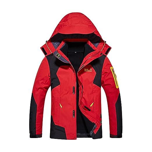 034278ea969 Windproof Snow Ski Jackets For Men Winter Waterproof Skiing 3-In-1  Breathable (