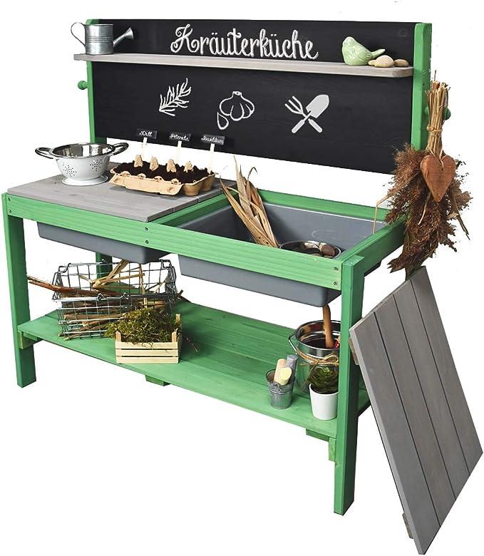 Meppi Matschküche Kleiner Gärtner - Meppi Matschküche Grün