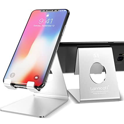 amazon com cell phone stand lamicall phone stand 2 pack rh amazon com