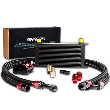 Amazon.com: Enfriador de aceite de transmisión de motor ...