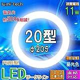 LED蛍光灯丸型 (20W形, 昼光色)