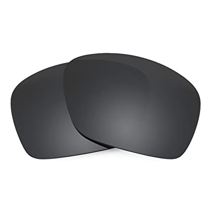 3055614601822 Revant Polarized Replacement Lenses for Oakley Plaintiff SquaredBlack Chrome  MirrorShield®