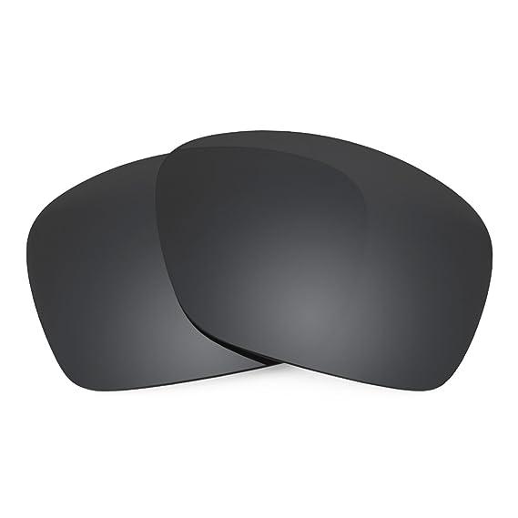 f2e35461b3 Revant Polarized Replacement Lenses for Oakley Plaintiff SquaredBlack  Chrome MirrorShield®  Amazon.co.uk  Clothing