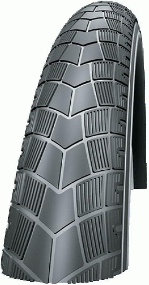 2x Schwalbe Pneus Big Apple 50-355 18 in RaceGuard fil Reflex Noir