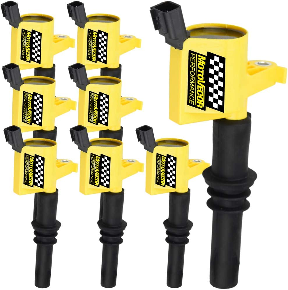 Straight DG511 Ignition Coils 8 Pack For Ford 2004-2008 F-150 Expedition 5.4L V8