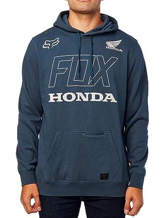 Sudadera para Hombre Fox Honda Pullover Fleece (Azul Marino) (Small)
