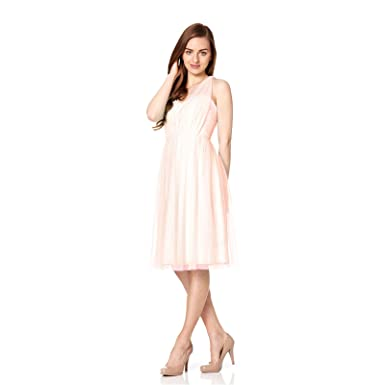 Fever London Andros Multiway Prom Dress Nude - Pink - 12