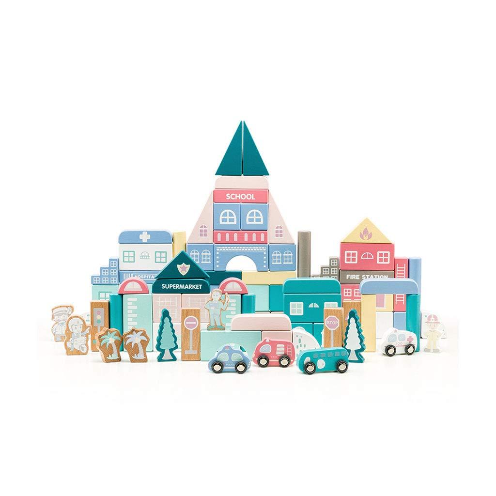 春夏新作モデル LINGLING-おもちゃ まるちから゜) 子供の木のおもちゃ多色の建物と組み立てられた車のパズルギフト男の子と女の子のおもちゃを組み立てる (色 : マルチカラー まるちから゜) マルチカラー まるちから゜ : マルチカラー B07QR2Q3N8, NaRaYa by tamy:5d725ba0 --- vezam.lt