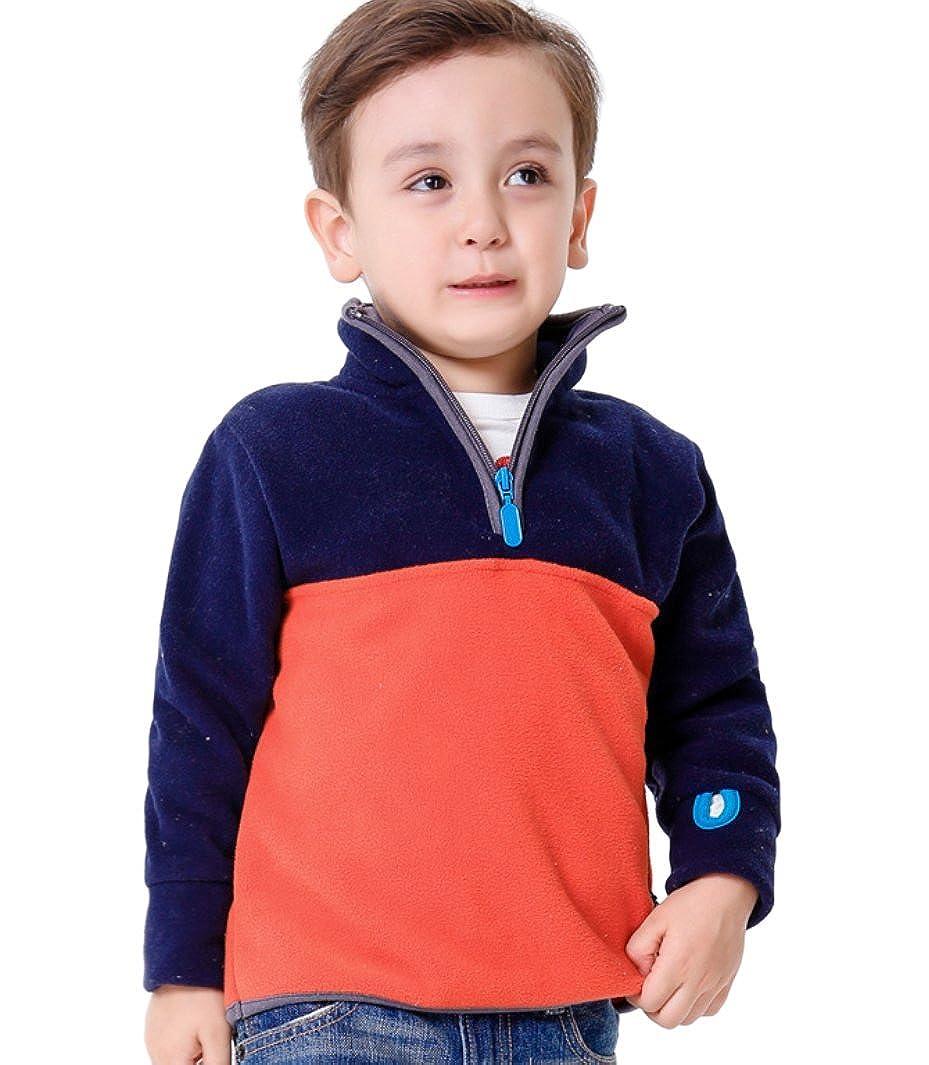 Dalary Boys/&Girls Long Sleeves Polar Fleece Outerwear Pullover
