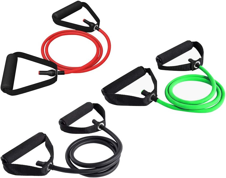 VIDELLY Yoga Workout Bands Elastic Resistance Bands Fitness Rope Rubber Bands for Fitness Equipment Tensile Expander Exercise Tube Training