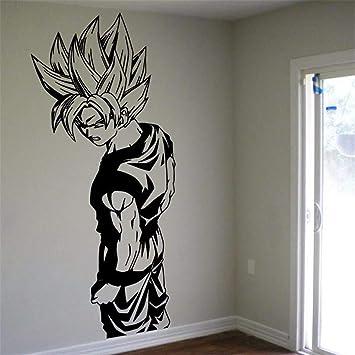 Dragon Ball Tatuajes de pared Tatuajes de pared Super Saiyan Goku ...