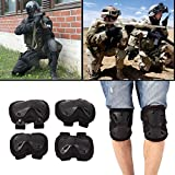 Hanbaili Military Army Tactical Combat Knee & Elbow Protective Pads Imperial Neoprene Elbow Pads Skate & Skateboarding Protective Pads