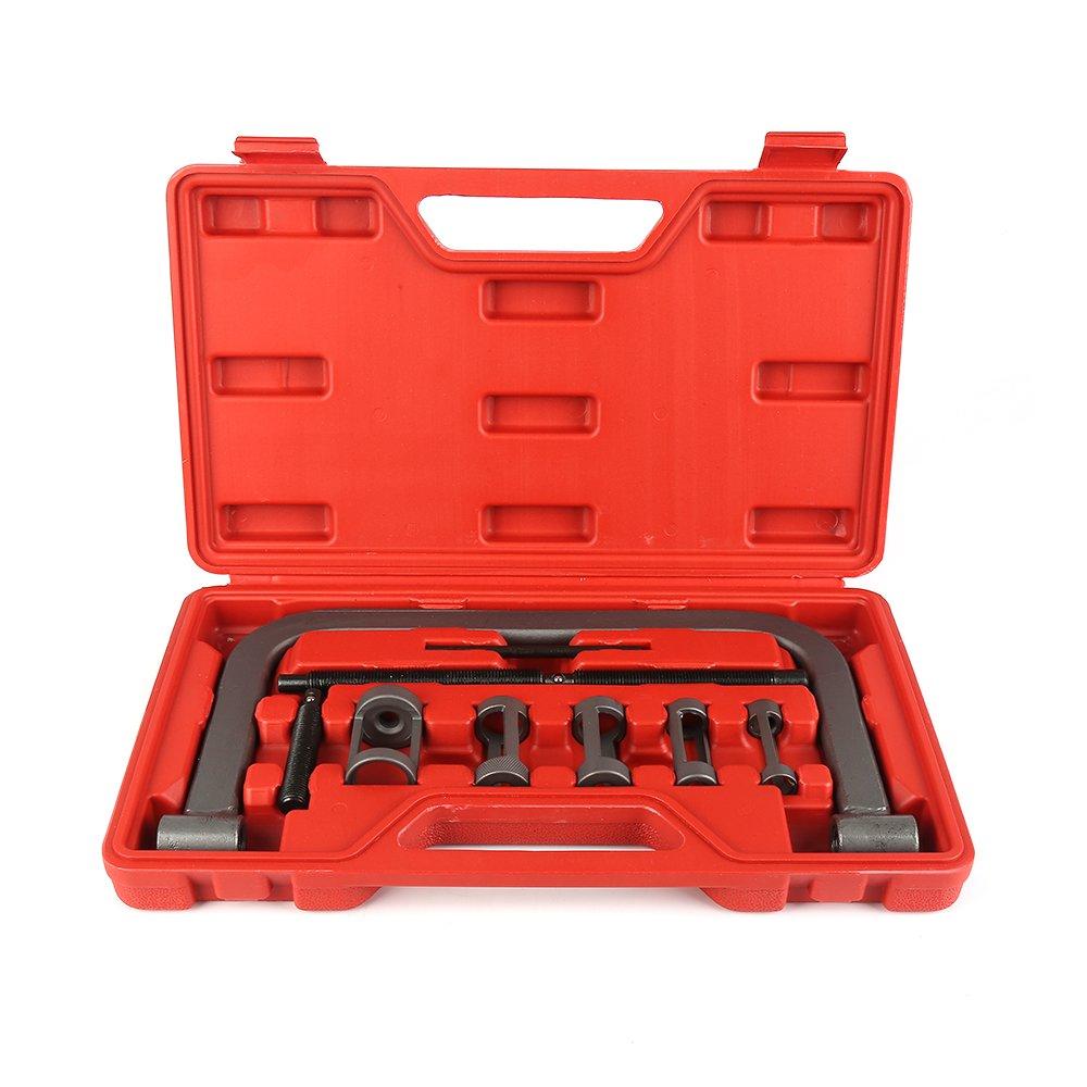 POPSPARK Strumento Automobile dei veicoli a motore di interruttore di Compressore della molla di 5 misure per il kit di moto di auto