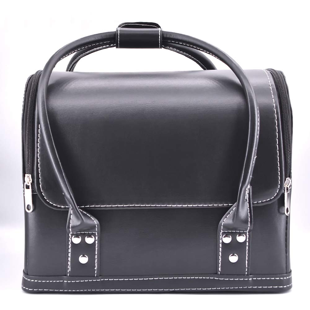 Enjoyer Close-up Leather Bag Magicians Bag Magic Tricks Stage Accessories Props Gimmick Mentalism Easy Carry Bag