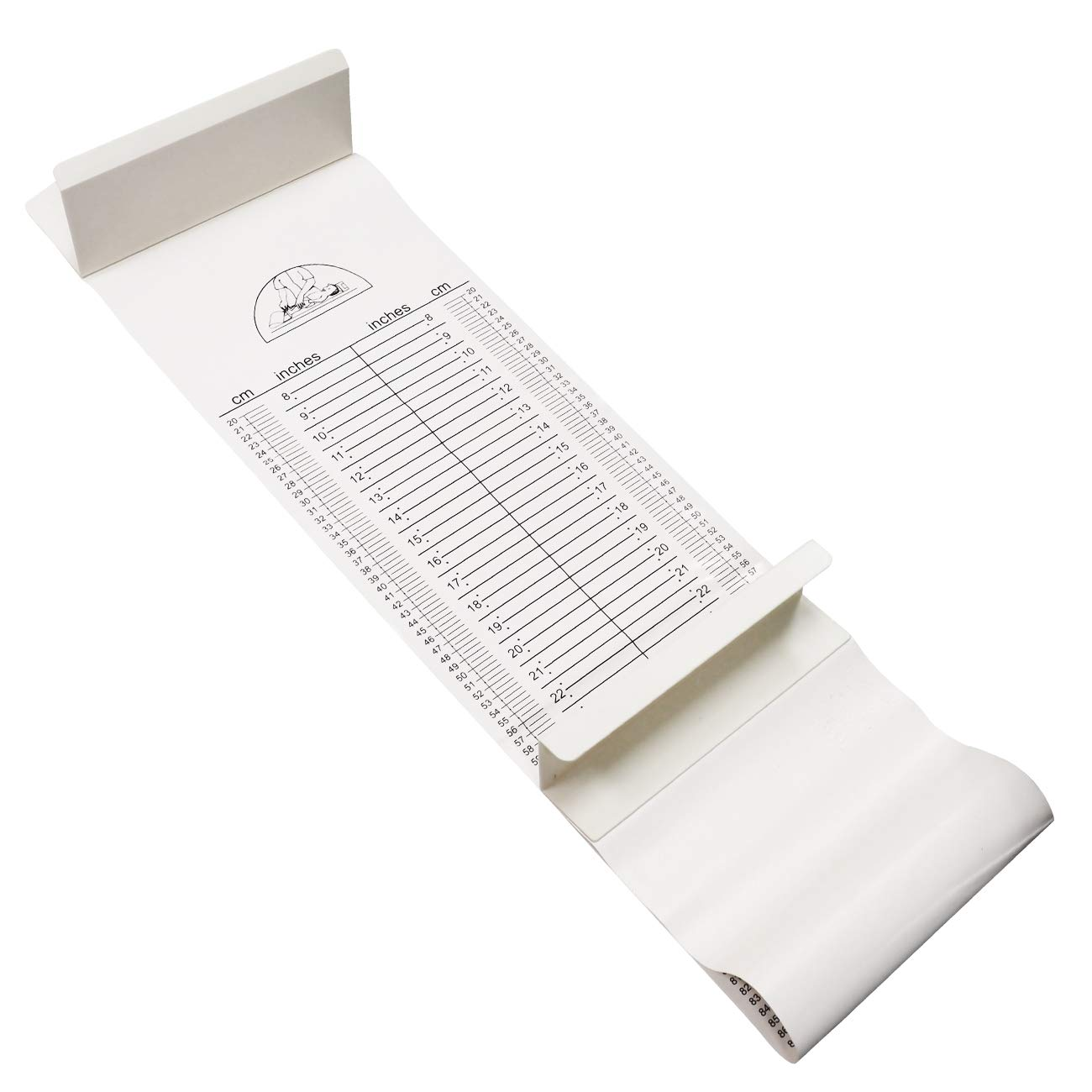 Baby Infantometer Height Ruler Measuring Mat by Mediarchitect