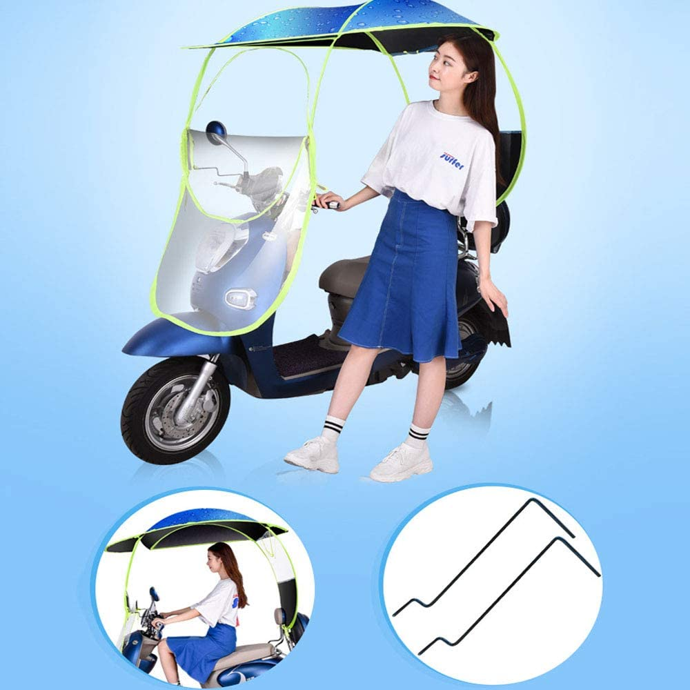Scooter Fold-Away Mobility Scooter Canopy,A AFAGC Universal Car Motor Scooter Umbrella Mobility Sun Shade