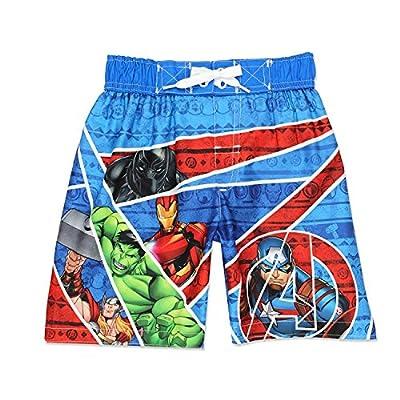 Marvel Big Boys' Avengers Swim Trunk