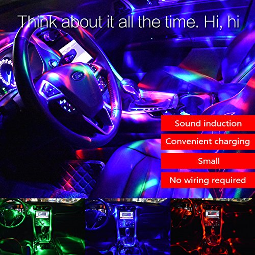 mini disco ball light battery operated ysshui sound activated multi coloured disco ball lightcar decoration
