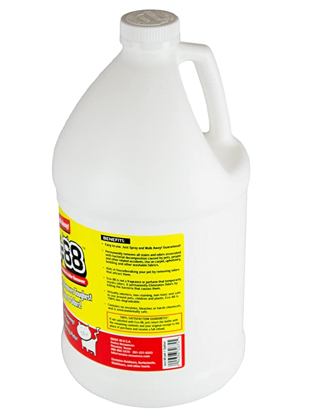 Eco-88 Pet Stain & Odor Remover - 1 Gallon