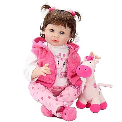 Amazon.com: Aori Reborn - Muñeca de bebé con peso de 22 ...