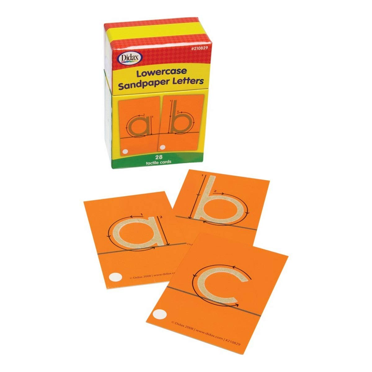 Didax Educational Resources Sandpaper Letters, Lowercase by Didax