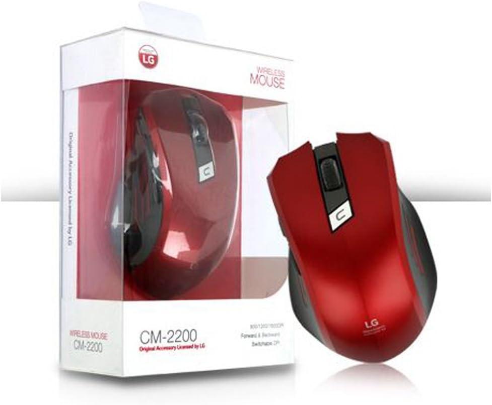 LG Wireless Mouse CM-2200 Red 1600dpi Nano Dongle