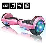 Amazon.com: NHT - Patinete con luces LED y altavoz (cromado ...