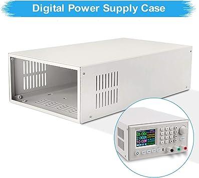 Innovateking-EU Caja de Fuente de alimentación Laboratorio Carcasa de Metal para AC-DC 400W 60V: Amazon.es: Electrónica