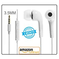 V CAN Earphones with Ultra Bass & Dolby 0.33MM Jack Sound Control YR Headphones for All Anroid and iOS Devices - (White)